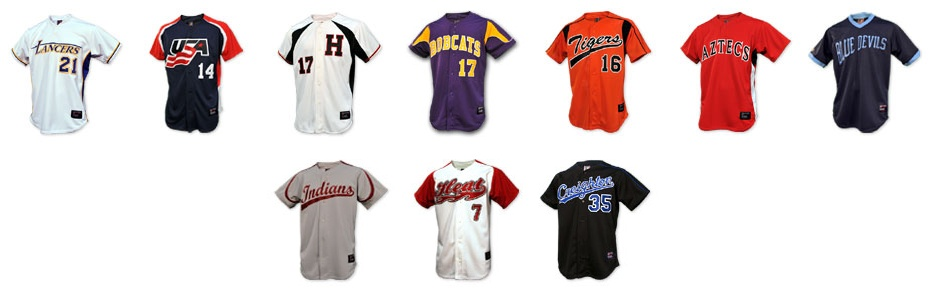 14dcbe65f68 Baseball Jerseys